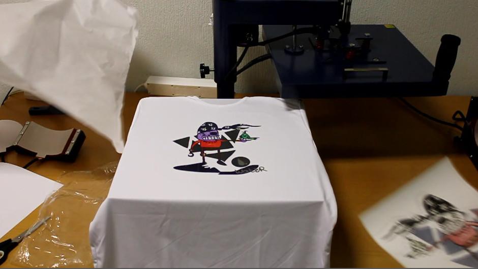 Печать на ткань домашних условиях