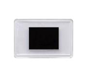 Акриловый магнит прямоугольный, размер 52x77 мм