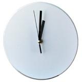 Часы стеклянные под сублимацию